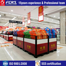 Supermarket promotional counter