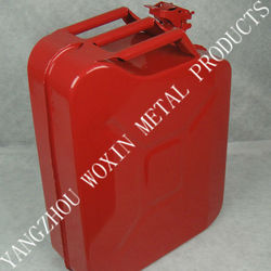 red 5 gallon Nato new-type metal gas container