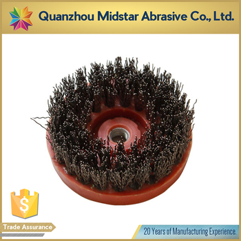 steel wire cup abrasive brush for stone