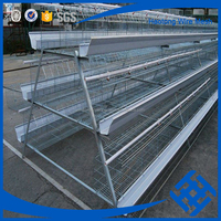 Hot Sale 3/4/5 Tiers chicken cage layer chicken cage