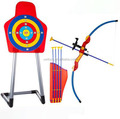 Boys bow and arrow toys children shooting toy set crossbow marksman with infrared sights for shooting sports toys
