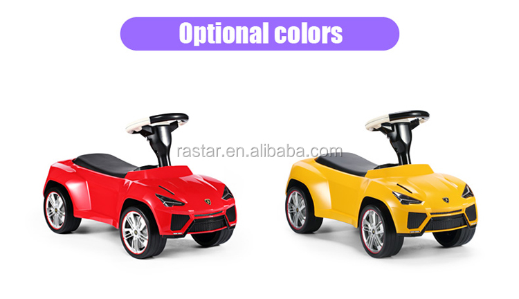 Rastar hot sale best kids plastic car toys Foot to floor car