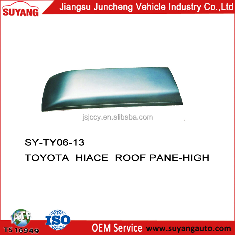 Roof panel TOYOTA HIACE 1985-2004 toyota 2c diesel engine parts