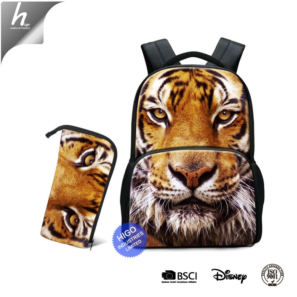 OEM 30-40 L Large Capacity Durable Computer Backpack Cute School Bag and Pencil Bag for College Students