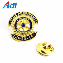 cheap wholesale hight quality enamel badge custom iron magnetic lapel pins with clutch