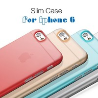 Mobile phone case 0.3mm matte ultra thin case for iphone 4/4S 5/5S 6 6Plus Samsung Galaxy S4 S5 S6 Note 3 4 A3 A5 A7 For HTC M8