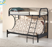 Durable metal bunk beds camping steel bunk bed cots