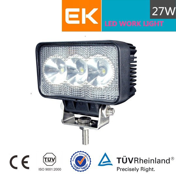 EK 10inch light with Clear Cover CREE 12V new 27w car led tuning light/led work light