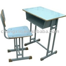 modern single school desk and chair