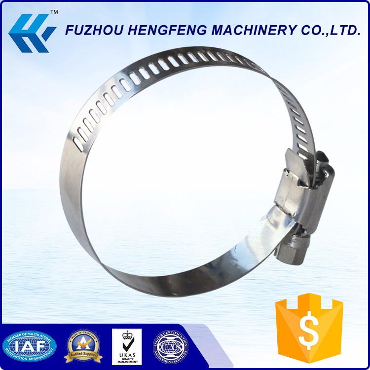Flexible Quick Release American Type stainless steel hose clamp
