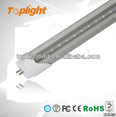 Fatory new design high brightness 1200mm 18w t8 led ping tube 18w