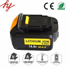 dewalt battery 14.4V 3.0Ah lithium ion battery superior power tools with 18650 battery cell