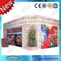2014 Newest attractive Amusement park electronic Amusement china 4d 5D 7d cinema simulator 5d simulator equipment