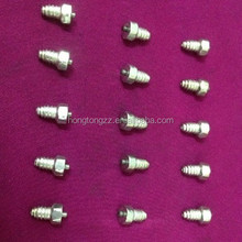 Tungsten carbide traction tire studs