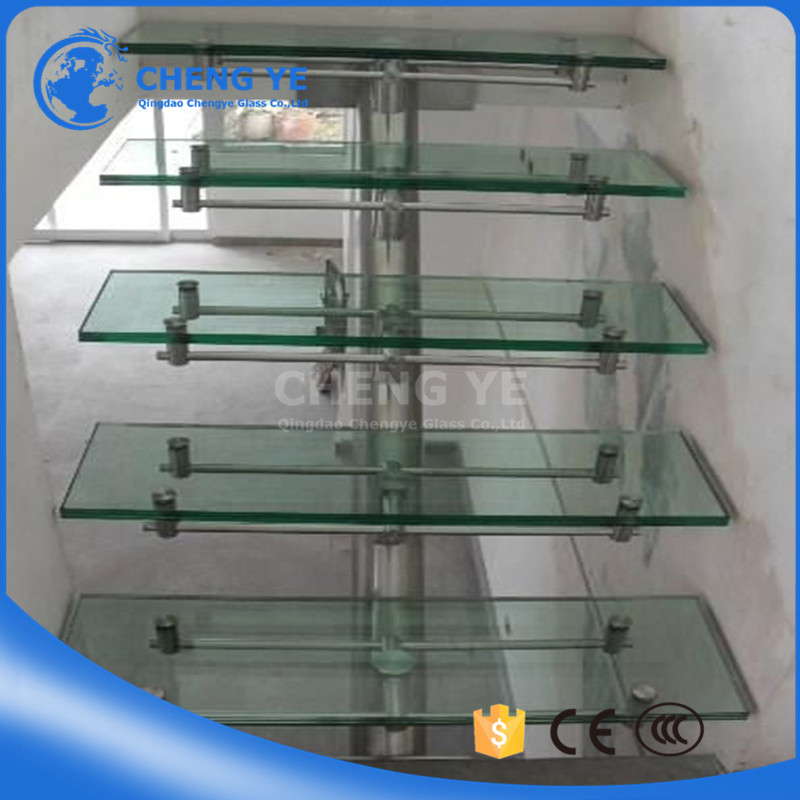 Custom-Made Shape 6mm 8mm 10mm 12mm 15mm Window Toughened Shopping Building Tempered Glass