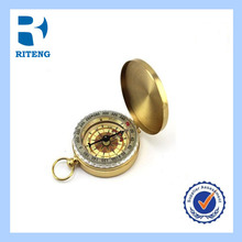 New High Quality Classic Brass Pocket Watch Style Compass
