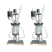1L Bench Top Glass Reactor Reaction Systems Jacketed Lab Reactors and Custom Reaction Systems