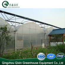 High quality galvanized steel truss greenhouse used 200 micron greenhouse film