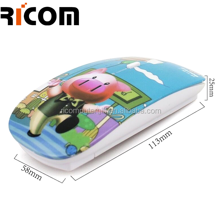 custom usb wireless mouse,custom shenzhen wireless mouse,custom made wireless mouse from Shenzhen Ricom MW8003