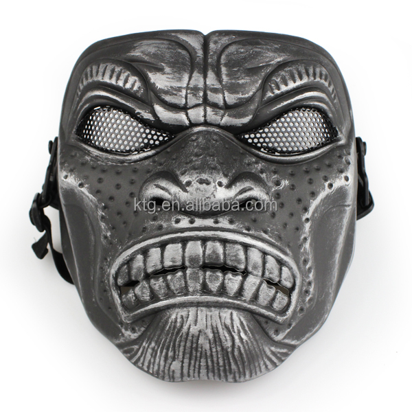 Protective Outdoor War Game Military full face mask, Tactical Face Shield Mask,