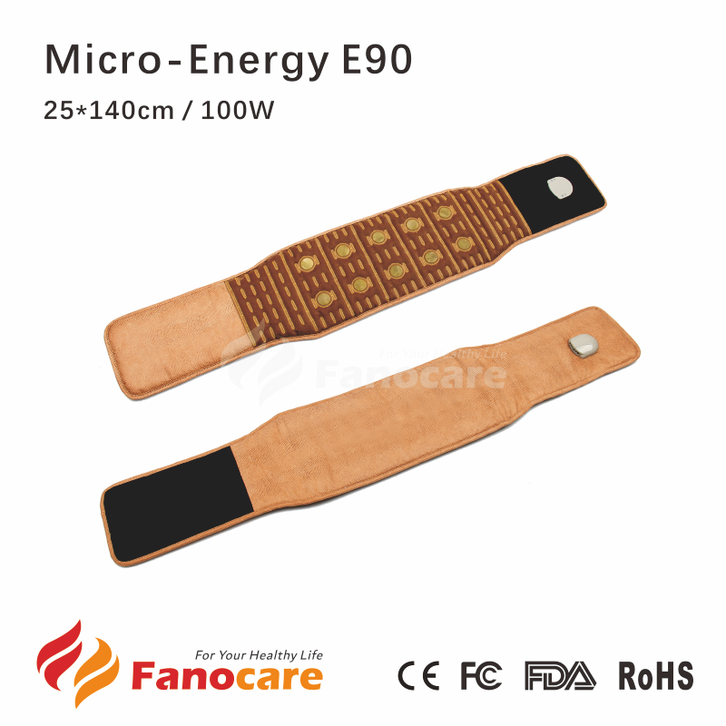Mirco-Energy Fanocare tourmanium ceramic mat belt thermal jade stone infrared health mattress