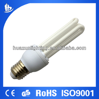 U shape energy saving lamp /fluorsecent bulb cfl 3u T2 11W-the leading lighting manufacture