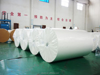 decorative base paper for print or impregnate with high titanium 65gsm-85gsm