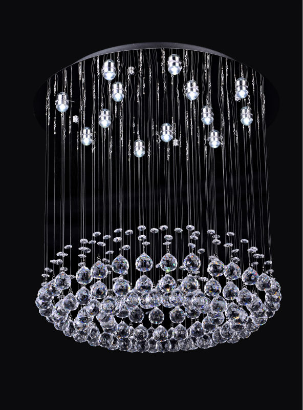 Zhongshan Crystal chandeliers and Morden Ceiling light DY13014-13