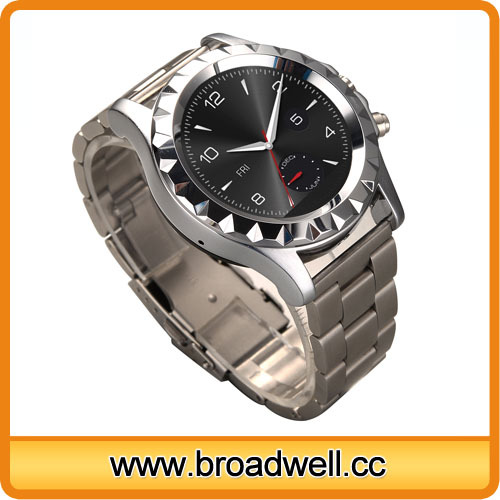 High Quality Waterproof Stainless Steel Heart Rate Monitor Watch For Man