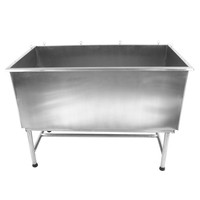 Professional stainless steel dog bathtub/dog grooming station H-101
