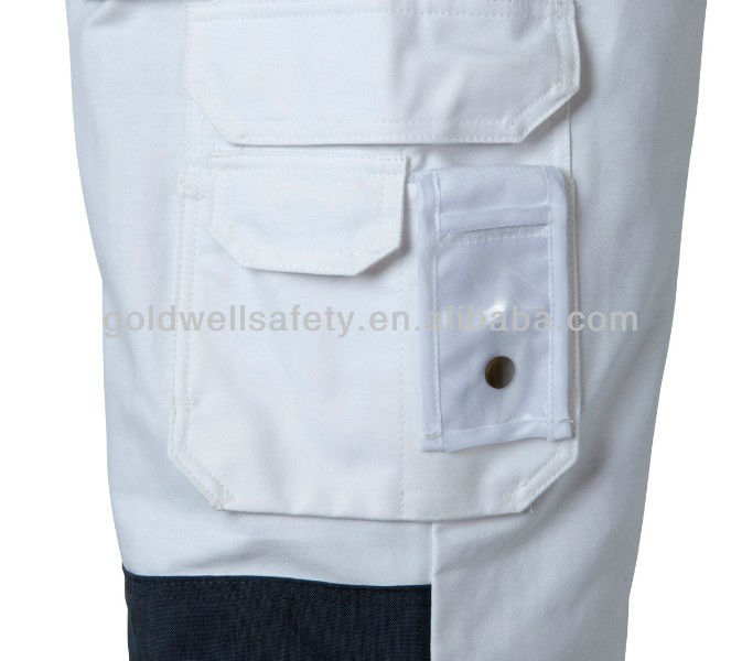 Painters trousers in white