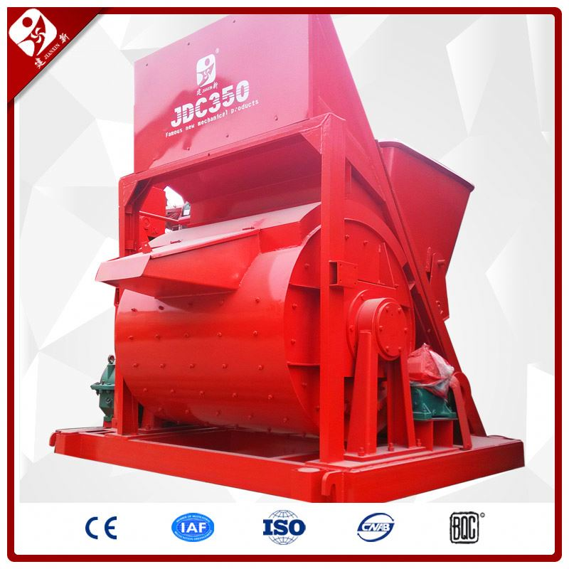 New Design Mobile Mixing Machine 350L High Performance Good Concrete Mixer Specification