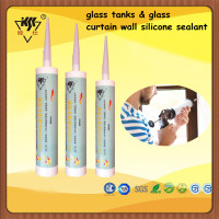 acetic aquarium silicone sealant,glass tanks & glass curtain wall silicone sealant,big glass and glass skylight