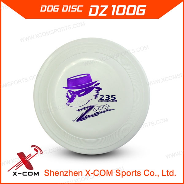 X-COM China Alibaba Custom Pet Dog Toys 100 Dog Frisbees