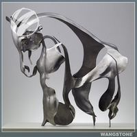 Customize Stainless Steel Large Horse Sculpture