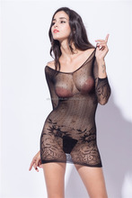 new arrival sexy nightwear black color women video sexy lingerie