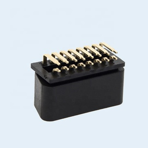12V 24V J1962 90 Degree Right Angle Pins OBD II OBD 2 OBD2 Male Connector
