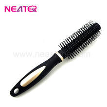 high quality top sale daily use plastic round hair brush for women