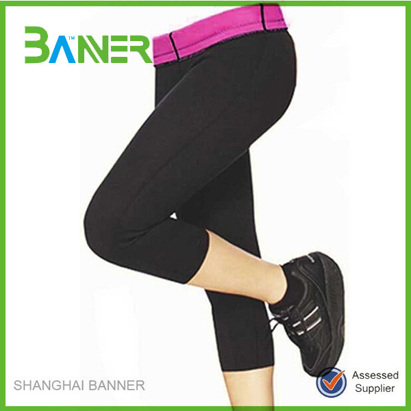 Neoprene fitness hot slimming pants wholesale