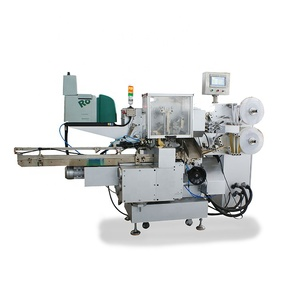 Folded wrapping machine automatic hard candy packaging machine chocolate pillow packing machine
