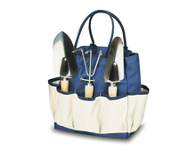 Canvas Bag Picnic Time Garden Tote With Tools Big Capacity Additional Exterior Pockets For Added Storage