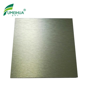 Metallic surface 12mm hpl fireproof compact laminate sheets