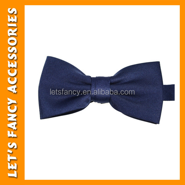 PGAC1029 Royal blue high quality cheap mens self tie party bow ties