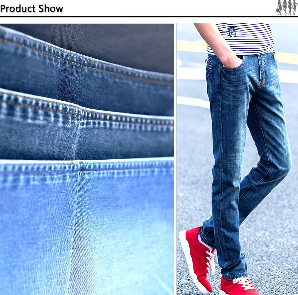 2016 lastest design fashion style men jeans manufacturer