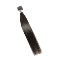 "100% human remy 10"" virgin Indian straight hair"
