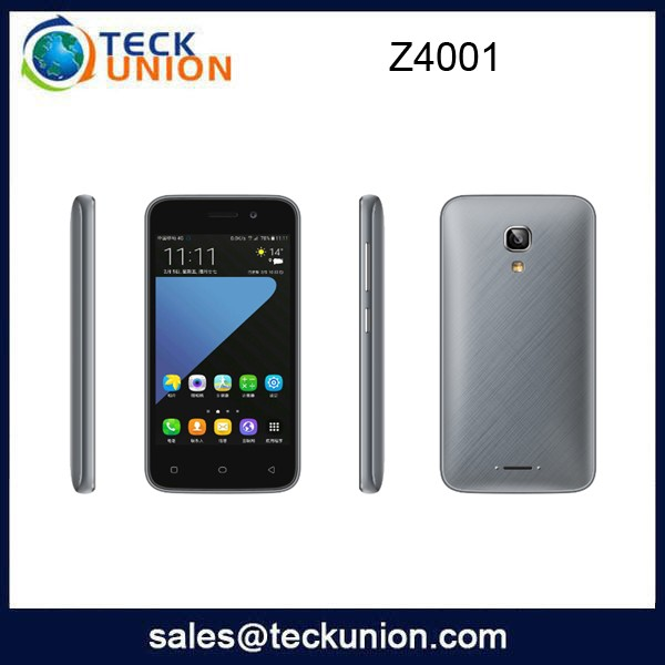 Z4001 4.0 inch wholesale chip price cellular android oem 4g smartphone on sale