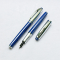 Office Business Fountain Pen With Ink Cartridge Pupils Fine Metal Pens Fountain Pen Nibs