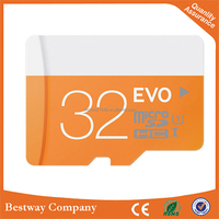 factory mobile memory card with Blister or Plastic or Bulk Package Brand SD Card