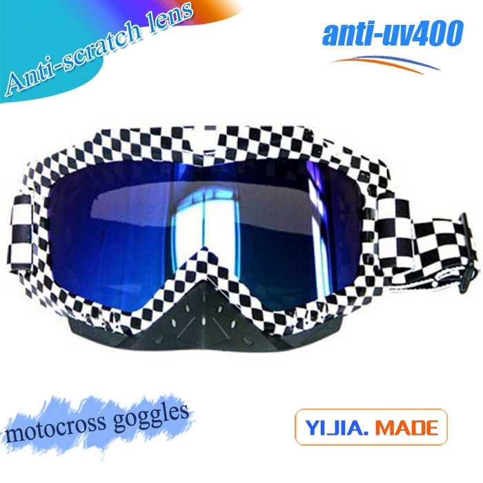 TPU watertrasfer colorful frame motocross goggles MX hot selling factory price goggles crossing goggles