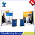 Custom printed promotional advertising pop up display stand